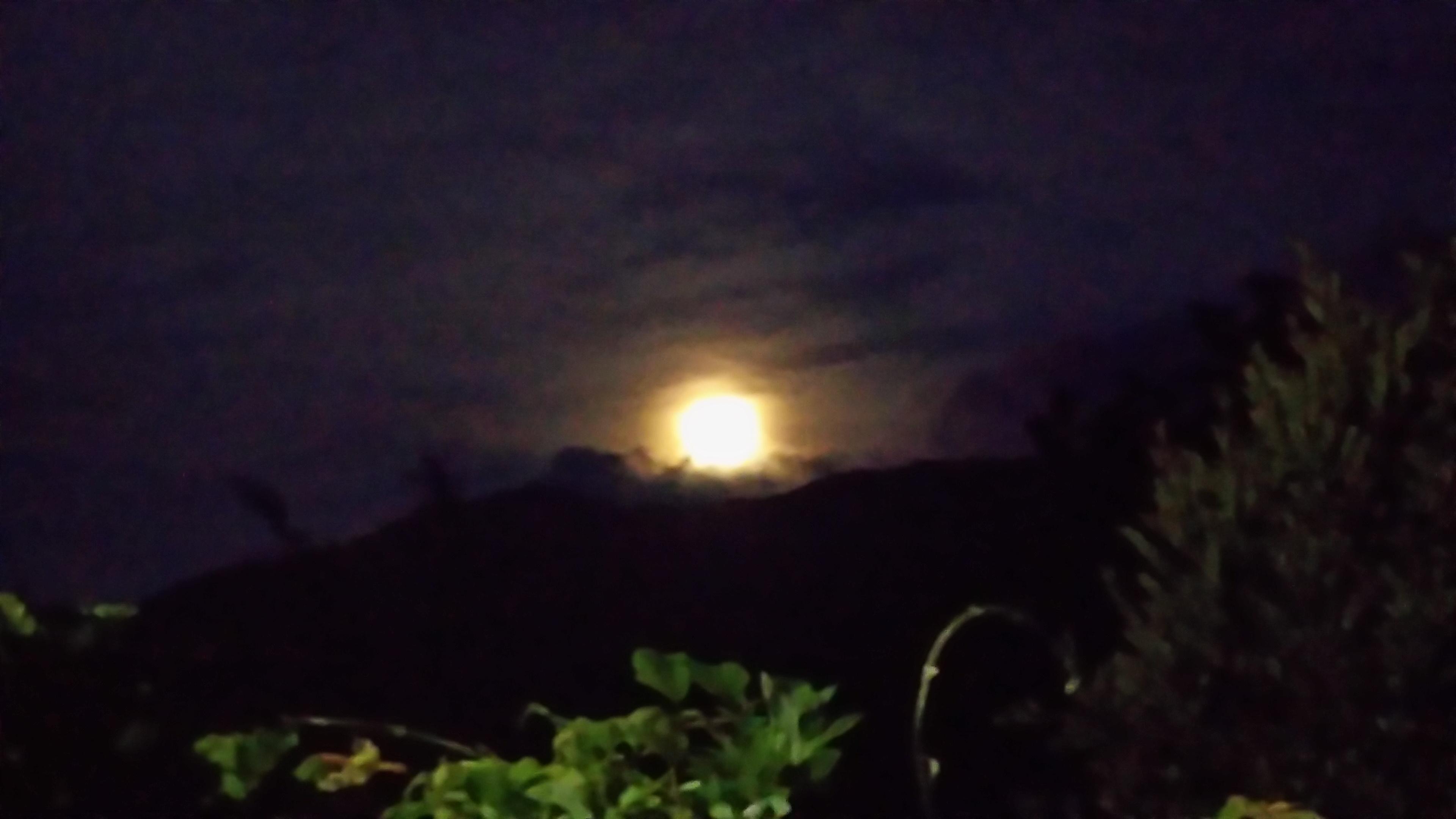中秋の名月~満月